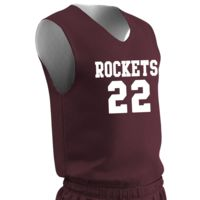 BBJPW Women's Zone Reversible Jersey with Team Name & Numbers Thumbnail
