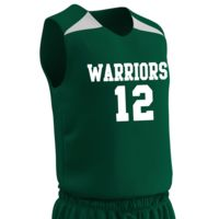 BBJ4Y Youth Slam Dunk Reversible Jersey with Team Name & Numbers Thumbnail